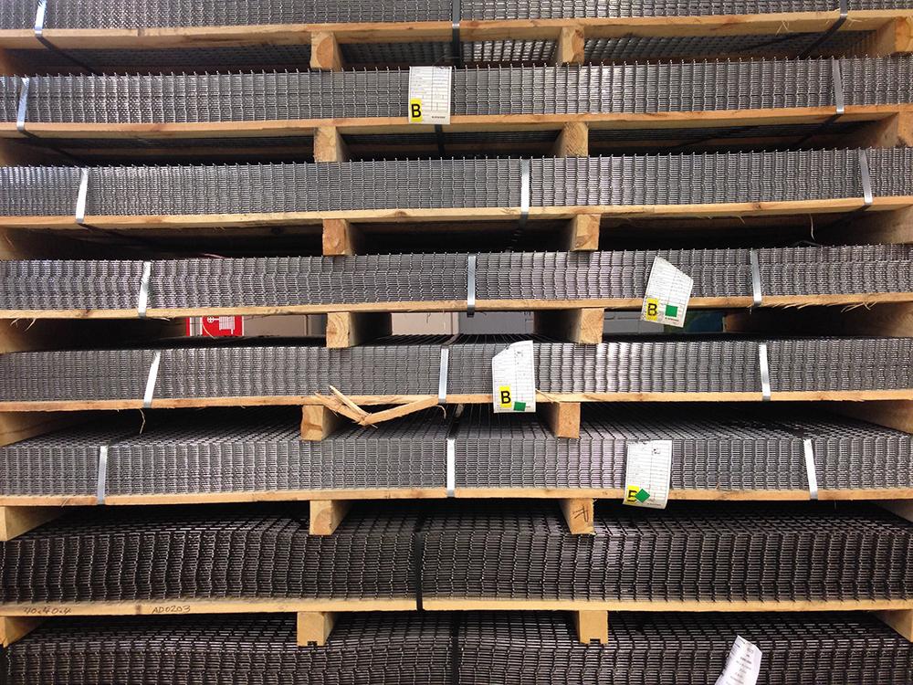 Hitsattu verkko RST 50x50x4.0mm 1000x2000mm