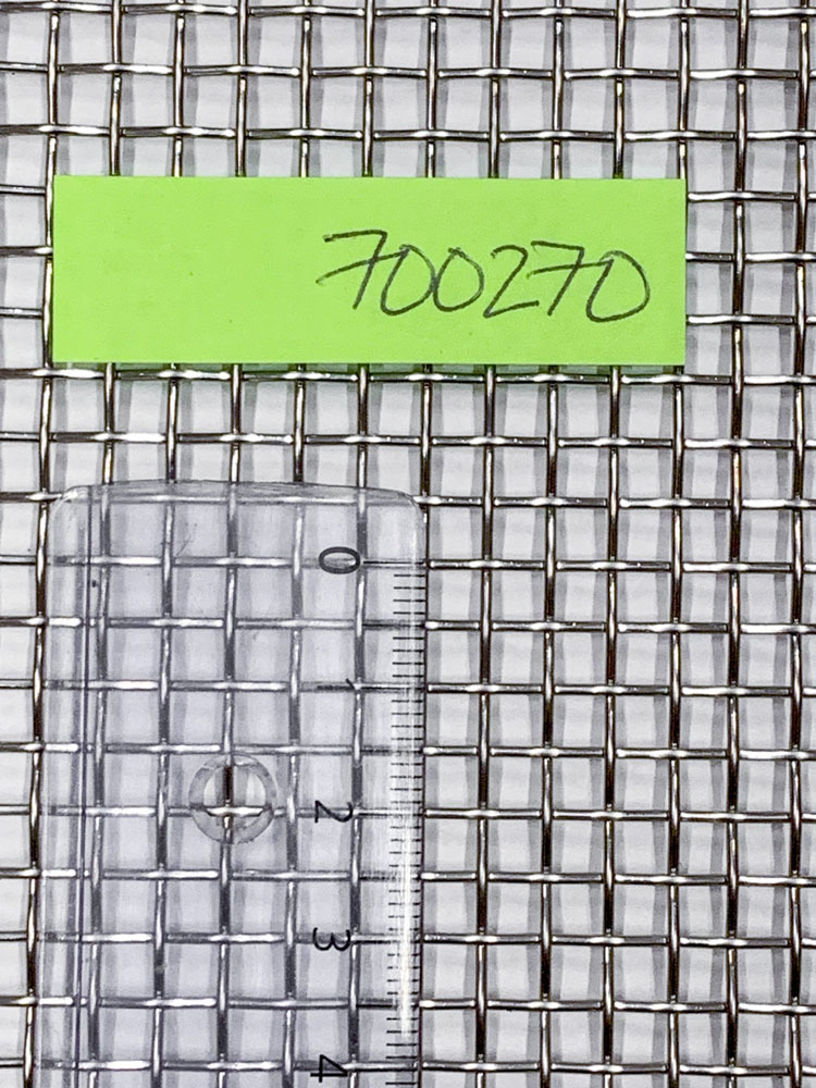 Kudos HST (AISI316) Mesh 5.5  4.0x4.0x1.0mm 1016mm