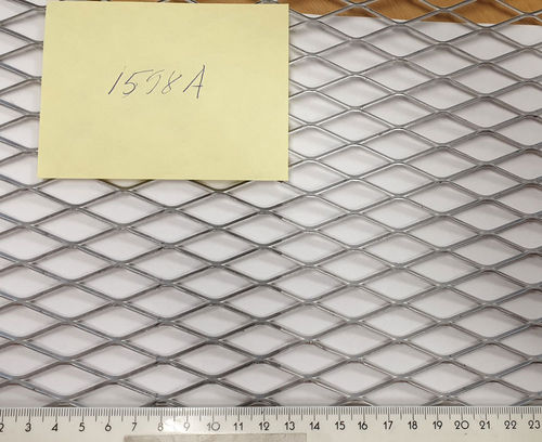 Verkkolevy Alumiini 17x38 2500x1250mm