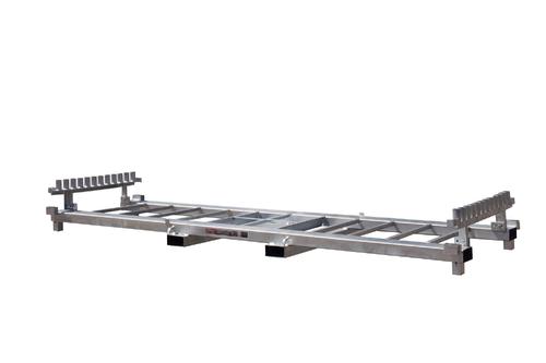 KP 30 yhdistelmäteline Työmaa-aidoille ja betonijaloille