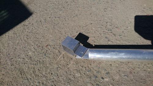 Kulmatuki alumiini tolpalle 50x2/3000mm