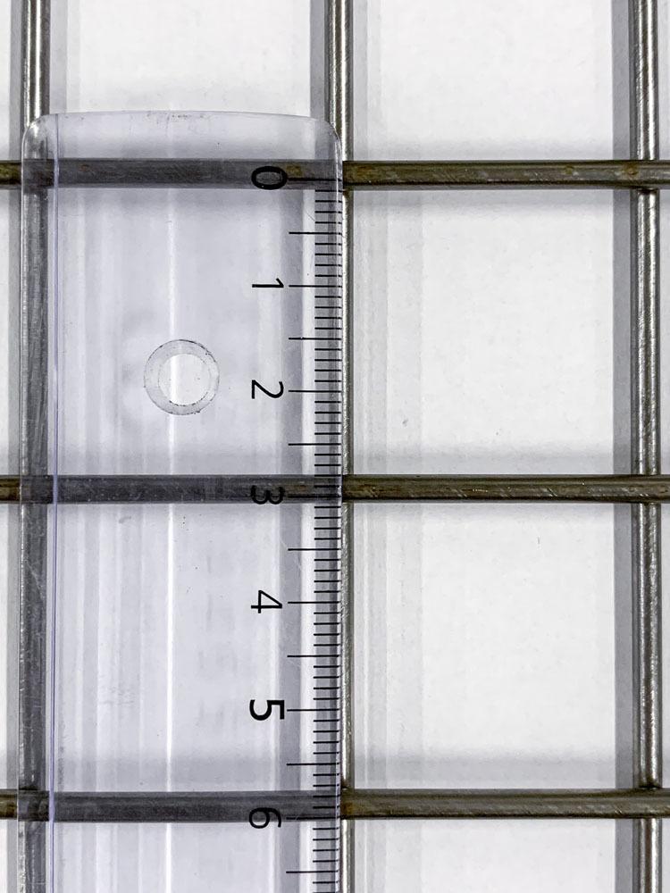 Hitsattu verkko RST 30x30x2.85mm 1000x2000mm