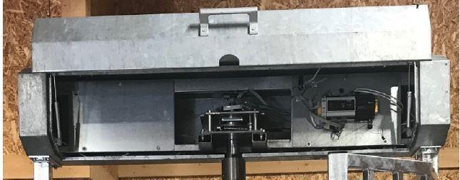 Pyöröportti puoliautomaatti HMT 3 Basic Mobile Turnstile