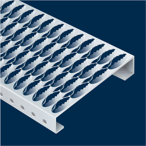Profiilitasoritilä Alumiini 360x40x4020mm  Anti-slip