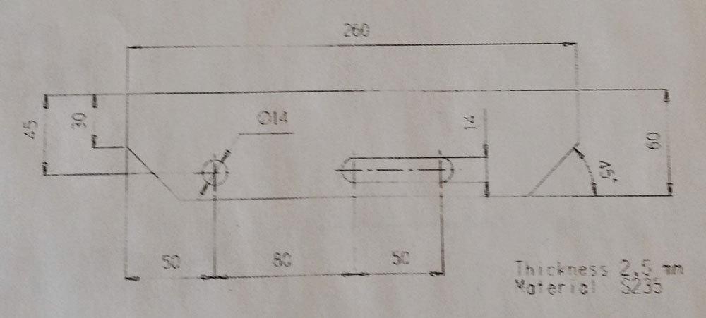 RITILÄASKELMA ZN 34x76/30x2 – 800x260mm, hammastettu