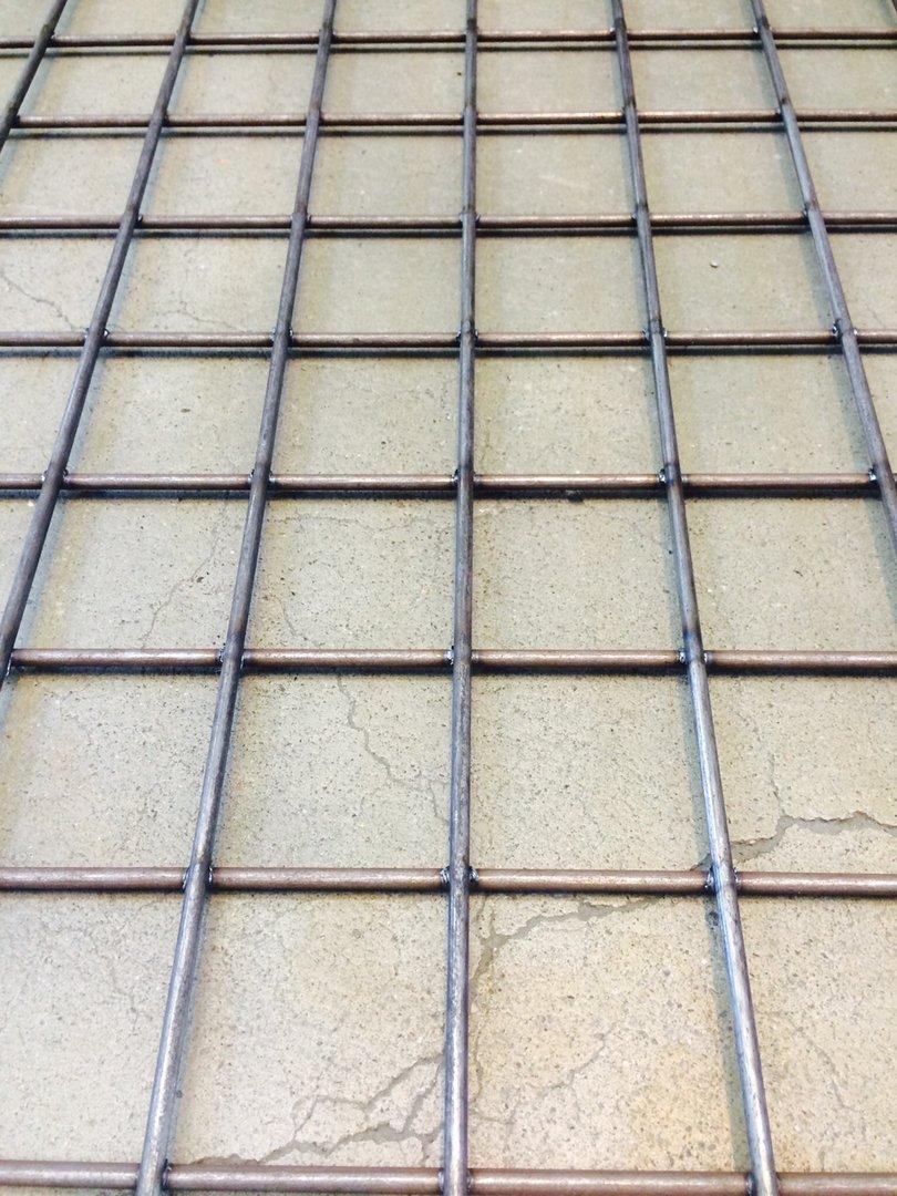 Hitsattu verkko Musta teräs 50x50x3.0mm 1250x2500mm