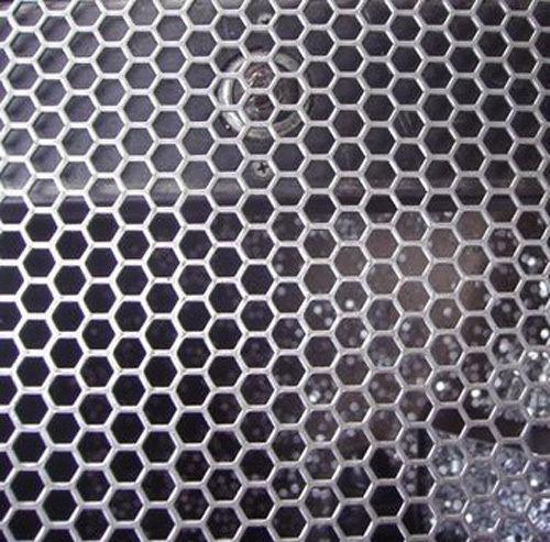 Hunajakenno reikälevy Teräs 1.0x1000x2000mm H4.5 T5 81%