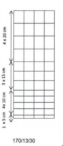 Poroverkko Kuumasinkitty 170/13/30 3.0-2.5mm 75m
