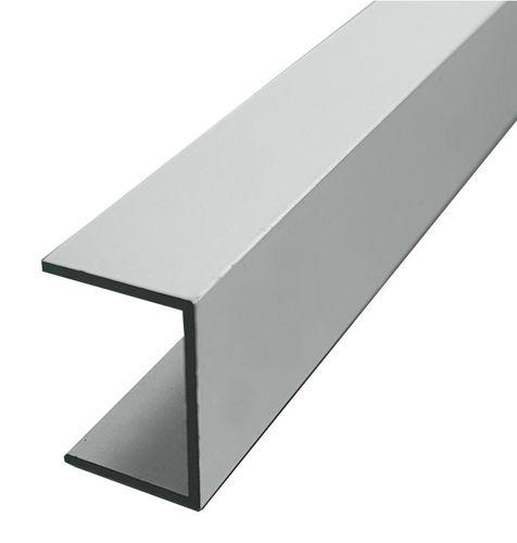 U-profiili Alumiini 20x20x2x2mm