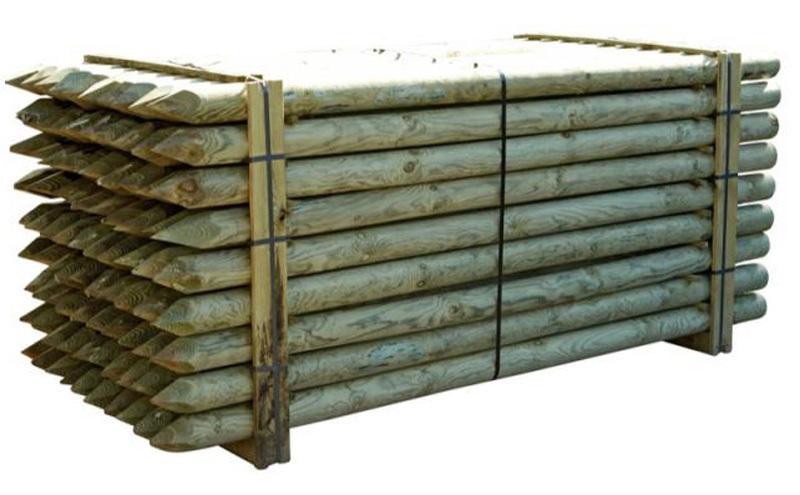 Puutolppa kyllästetty 80x1800mm