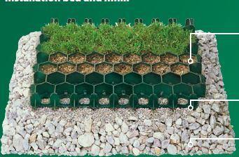 Viherkennosto Prograss kova hunajakennopaneli 500x390mm