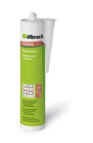 illbruck FS500 Rakennussilikoni Valkoinen