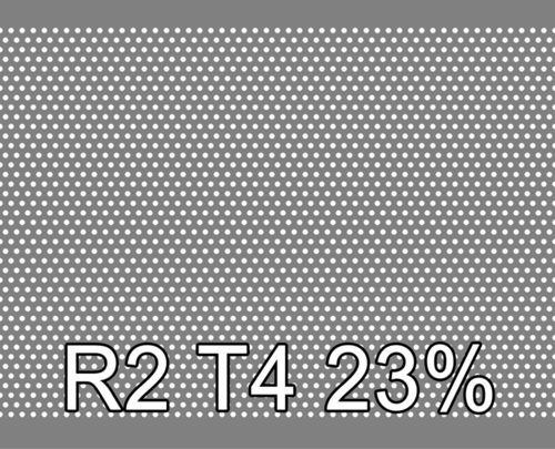 Reikälevy RST (AISI304) 2.0x1000x2000mm R2 T4 23%