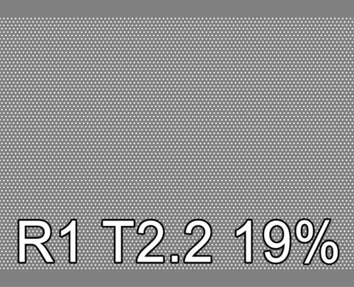 Reikälevy HST (AISI316L) 1.0x1000x2000mm R1 T2.2 19%