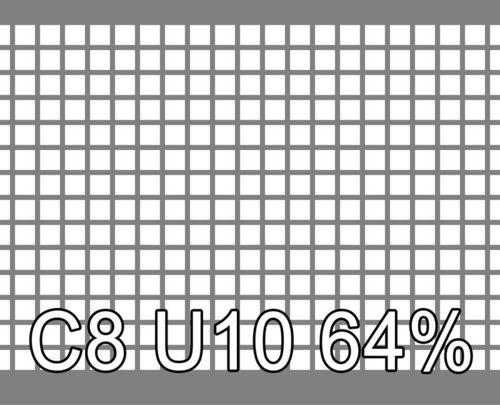 Neliöreikälevy Sinkitty (Zn) 1.5x1000x2000mm C8 U10 64%