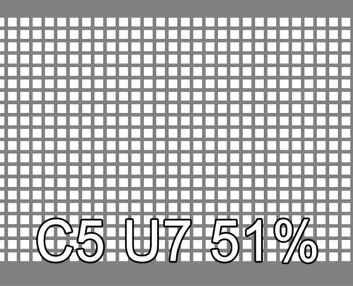 Neliöreikälevy Sinkitty (Zn) 1.5x1000x2000mm C5 U7 51%