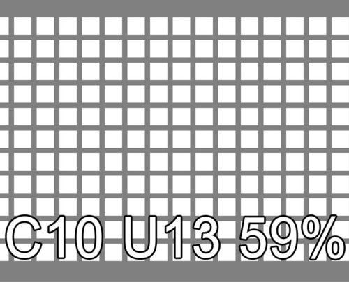 Neliöreikälevy Sinkitty (Zn) 1.5x1000x2000mm C10 U13 59%