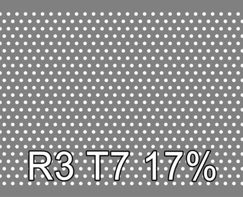 Reikälevy Sinkitty (Zn) 0.75x1000x2000mm R3 T7 17%