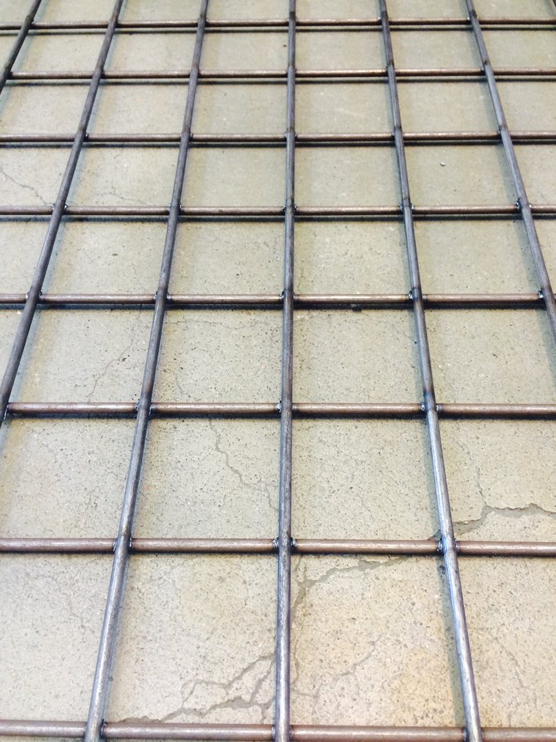 Hitsattu verkko Musta teräs 50x50x3.4mm 1500x3000mm