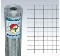 Hitsattu verkkorulla jälkisinkitty 12.7x12.7x1.05mm 600mm 25m
