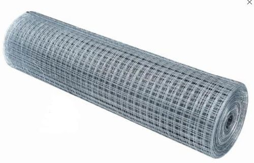 Rappausverkkorulla hitsattu jälkisinkitty 19x19x1.0mm 1000mm 25m