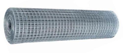 Minkkiverkkorulla hitsattu jälkisinkitty 25.4x25.4x1.8mm 800mm 30,48m