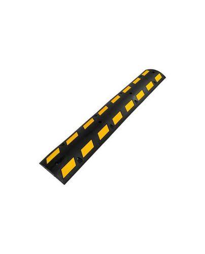 Ajohidaste töyssy kelta-musta 1800mm