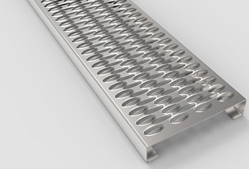 Profiilitasoritilä Teräs 360x50x6020mm Anti-slip