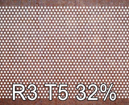 Reikälevy Cor-Ten 2.0x1250x2500mm R3 T5 36%
